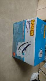 Cordless steam/spray dry iron