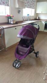 Baby Jogger Citymini buggy with rain cover