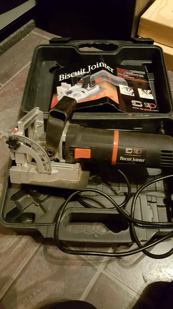 SIP Biscuit Jointer 07904 800w
