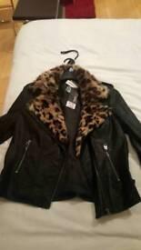 Brand new ladies leather jacket
