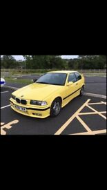 Bmw 318ti 2000 daker yellow