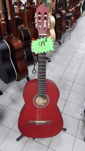 Classique 4/4 Rouge Guitare STagg