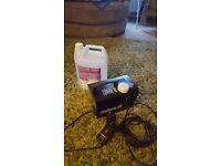 Pro Sound smoke machine & fluid