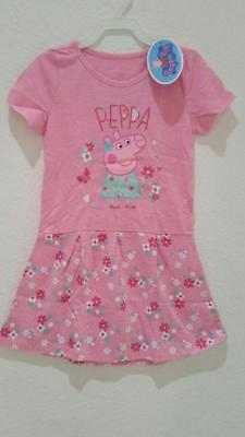 PEPPA PIG PINK SLEEP DRESS - SIZE 5T - NEW!!! (Peppa Pig Toddler Clothes)