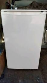 White fridge undercounter(delivery available)
