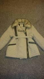 River Island mini coat 12-18 months