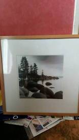 Ansel Adams style Black white landscape for sale
