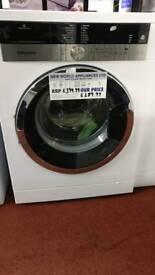 Grundig washing machine 8kg a+++ white graded