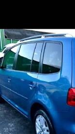 Vw touran tinted windows