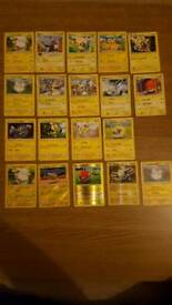Electric type pokemon cards