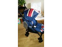 ***BRAND NEW*** Easywalker mini XL union jack buggy stroller