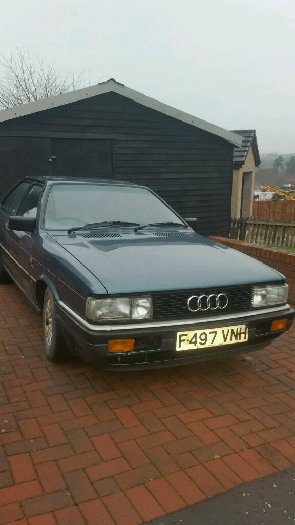 Audi Coupe Gt 18 1988 In Hamilton South Lanarkshire Gumtree