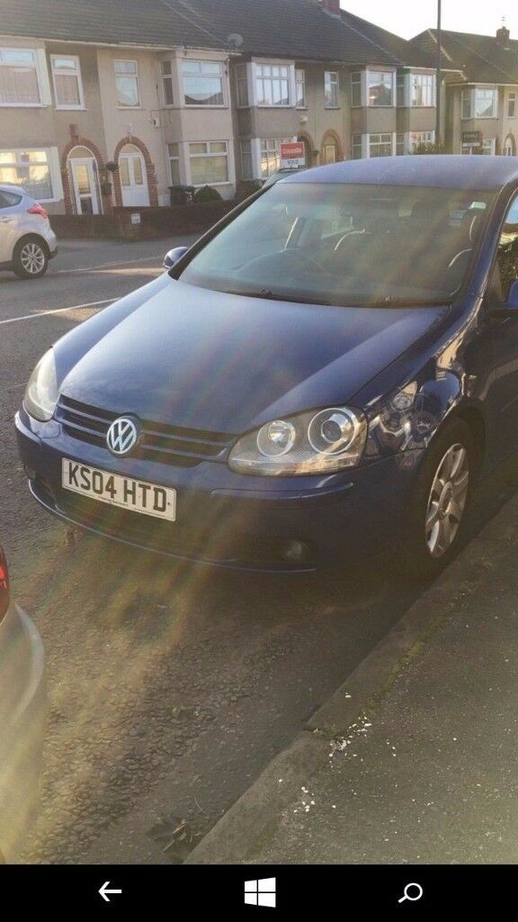 Quick sale 04reg auto vw golf