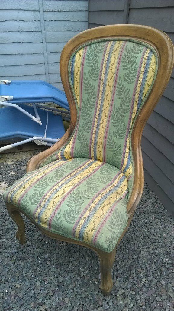 vintage nursing chair in original state made by grant international good upcyle project