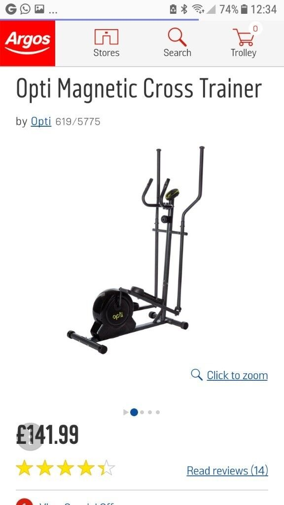 Cross Trainer as* NEW*