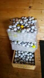 300 golf balls TITLEIST SRIXON PINNACLE CALLAWAy etc