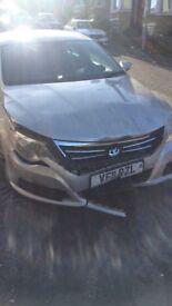 VW Passat cc 2011 damaged unrecorded