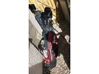 Ryder golf clubs full set and bag