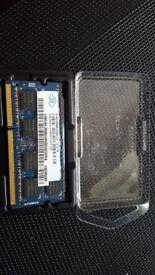 Nanya 4GB DDR3 Memory SO-DIMM 204pin PC3-10600S 1333MHz