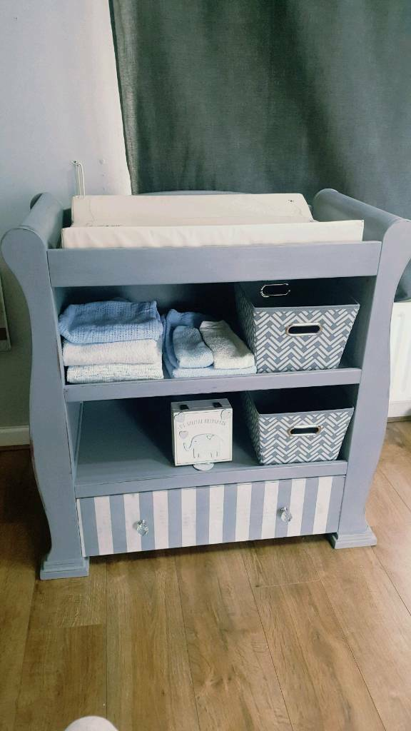 Shabby Chic Changing Table Nursery Furniture