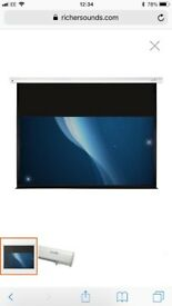 "Sapphire SEWS180RWSF-ATR 77"" electric projector screen"