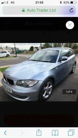 "Bmw 118d sport 17"" alloys 59 plate not 120d 318d 320d"