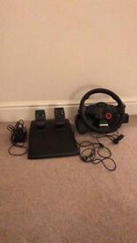 PlayStation 3 Driving Force GT Force Feedback Wheel