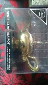 Genie lamp tea pot