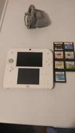 Nintendo 2ds and 3ds with games