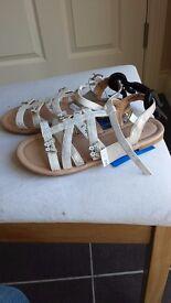 Next girls sandals size 2 (34.5) BNWT