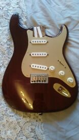Warmoth loaded Stratocaster body.