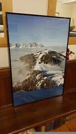 huge ski picture