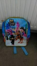 Bob the builder rucksack as new