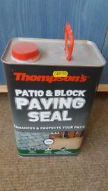 New Patio & Block Paving Seal
