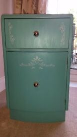 Shabby chic vintage cupboard/bedside cabinet