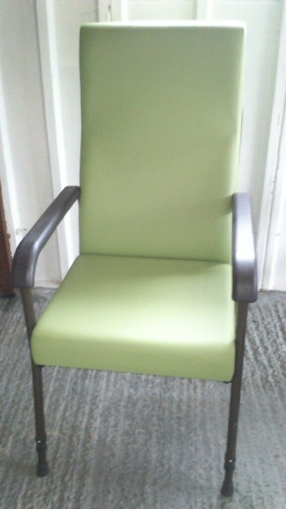 Green Aidapt Longfield Height Adjustable Chair For Elderly
