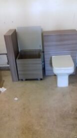 driftwood bathroom set new