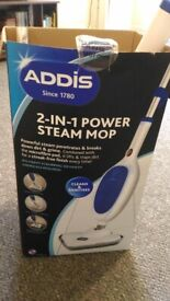 Addis 2-in-1 Power Steam Mop (to be collected in mid September)