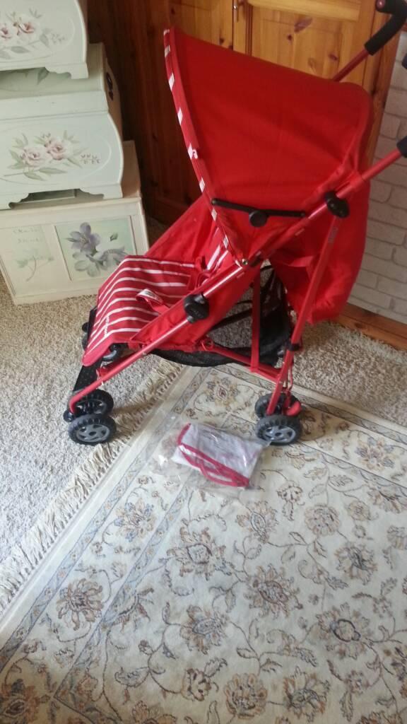 fantastic condition mothercare nanu stroller
