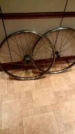 Vintage bicycle wheels (westrick) 3 speed
