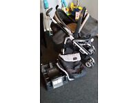 mamas and papas travel system/ pram pushchair and carseat