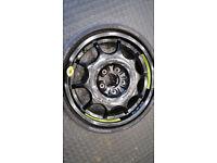 Mercedes Genuine 16 SPACE SAVER SPARE WHEEL 165 70 16