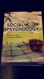 Social Pyschology (Hogg & Vaughan, 2013).