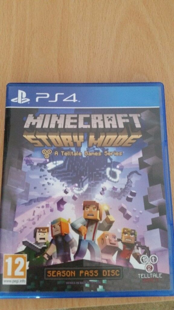 Ps4 game Minecraft story Mode