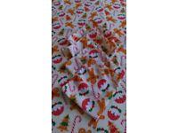 Christmas tablecloth with napkins