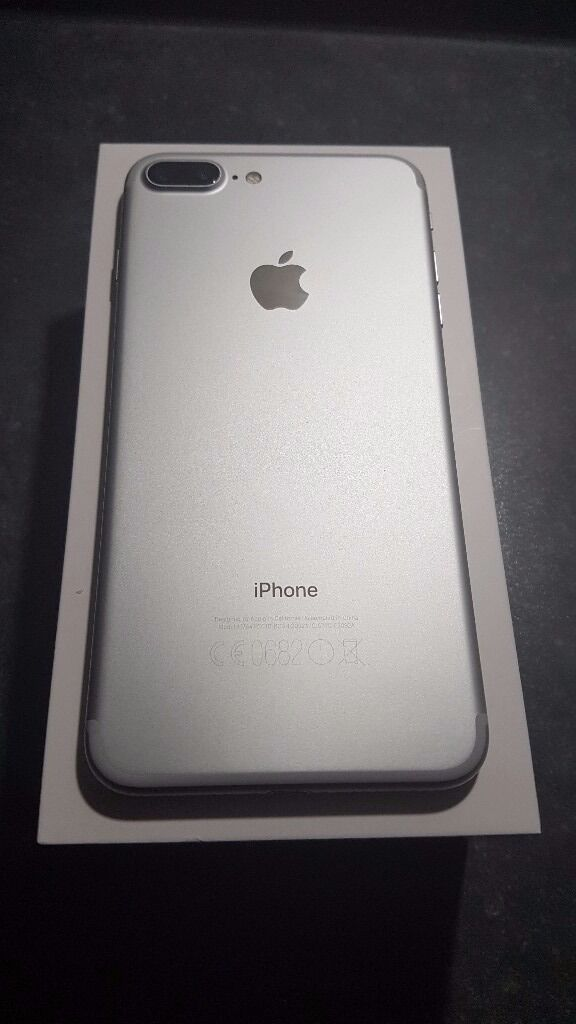 Apple iPhone 7 Plus (Latest Model256GBsilver Unlocked Ukin Bilston, West MidlandsGumtree - Apple iPhone 7 Plus 256GB jet black UK Unlocked The phone box has been opened with the device charged up and powered on but not set up. All original accessories are included unused. Apple Warranty 1 year If you have any questions, please dont...
