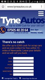Scrap car wanted free collection cash paid