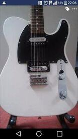 Fender Telecaster HH Olympic White