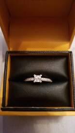 Goldsmiths Engagement Ring - Size M