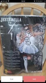 Jesterella Halloween costume